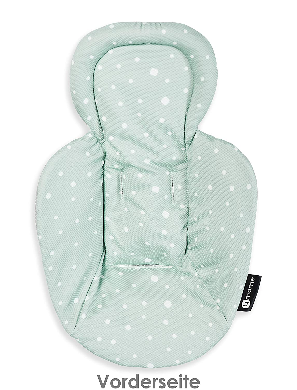4Moms New Machine Washable Newborn nest-Knit Fabric, Grey