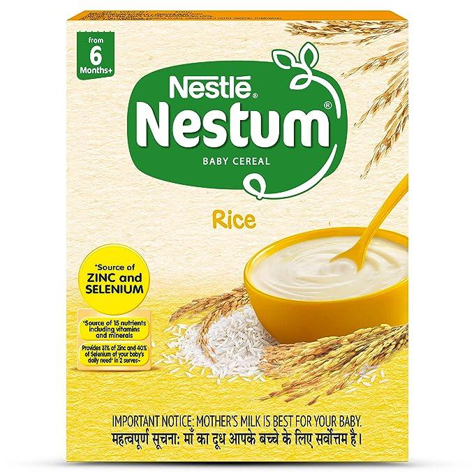 Nestle Nestum Infant Cereal Stage-1 (6 Months-12 Months) Rice 300g