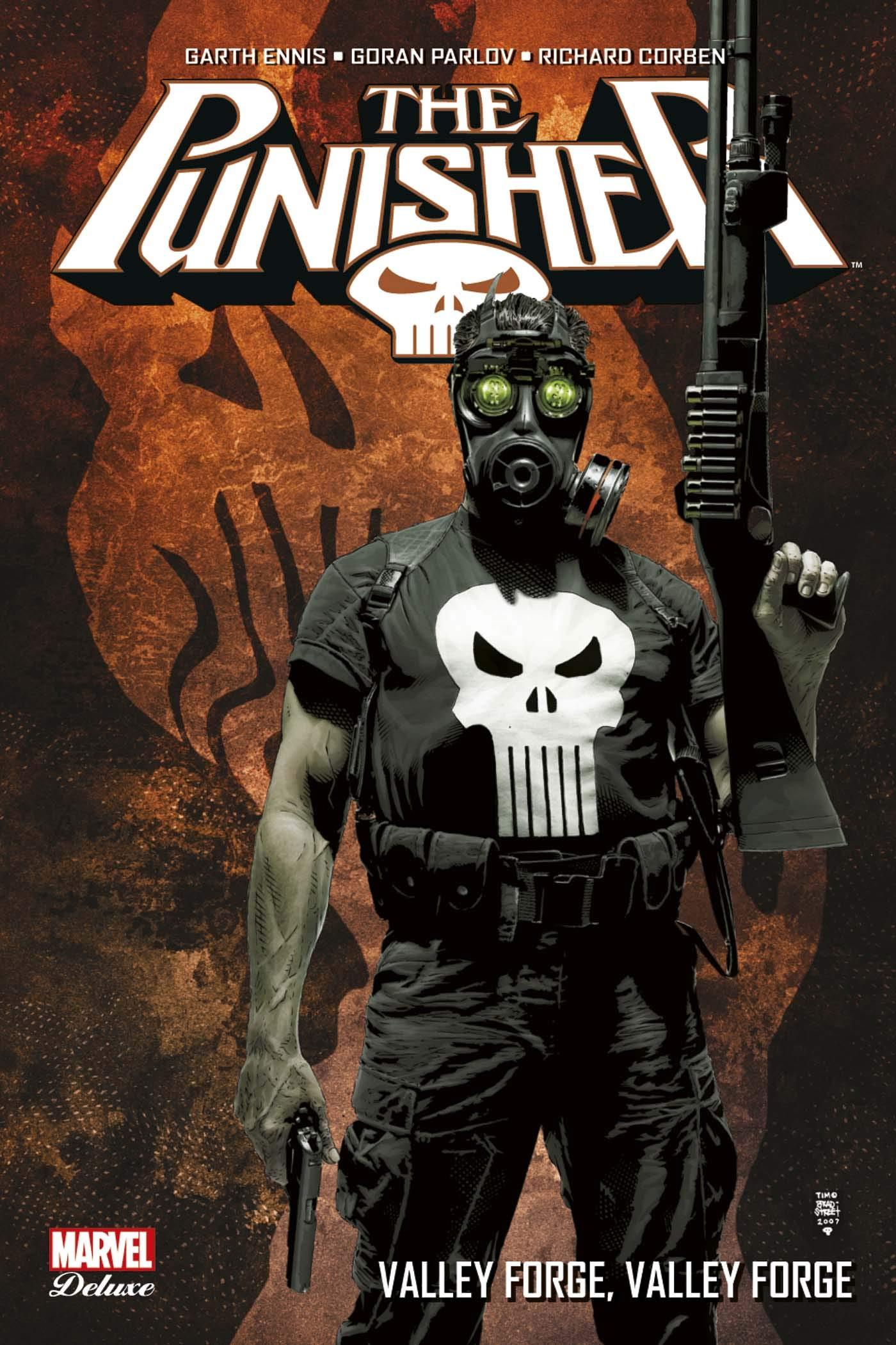 Punisher Deluxe : valley forge, valley forge Album – 10 octobre 2018 Garth Ennis Goran Parlov Richard Corben Panini