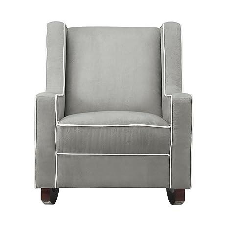 Admirable Baby Relax Abby Rocker Chair Nursery Living Room Furniture Gray Evergreenethics Interior Chair Design Evergreenethicsorg
