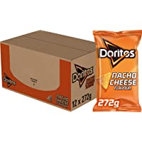 Doritos Tortilla Chips Nacho Cheese, Doos 12 stuks x 272 g