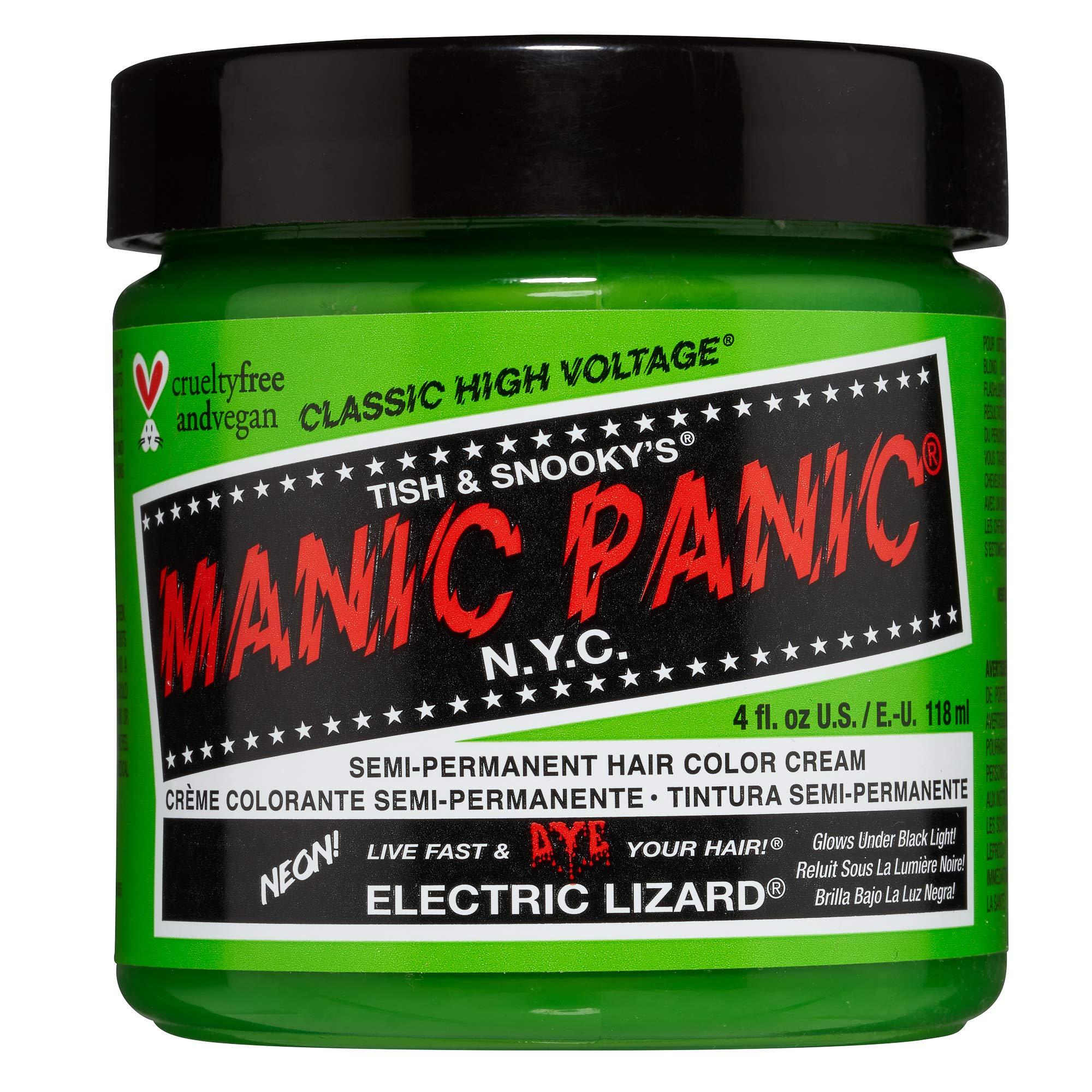 Manic Panic Hair Dye (4oz, Electric Lizard)