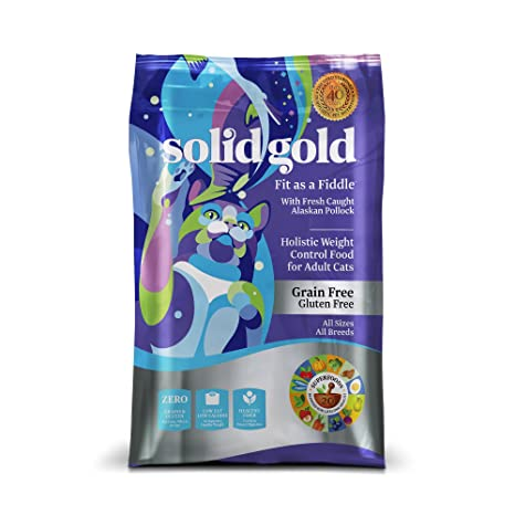 Amazon Com Solid Gold Holistic Dry Cat Food All Breeds All Life