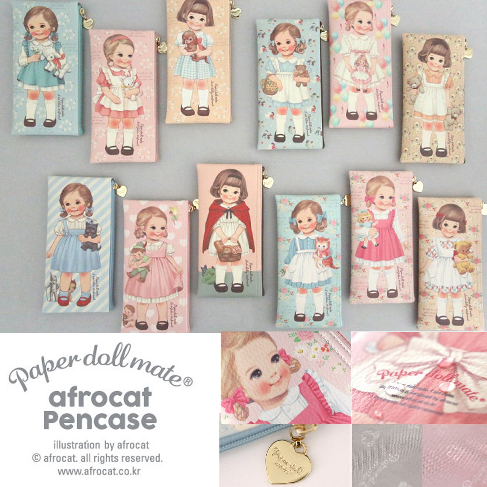 paperdollmate pencase ver007_blooming Alice by paper doll mate (Image #8)
