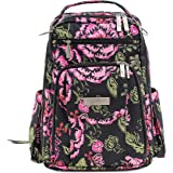 Ju-Ju-Be Classic Collection Be Right Back Backpack Diaper Bag, Blooming Romance