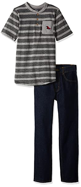 7fde8eefb91 American Hawk Toddler Boys' T-Shirt and Pant Set (More Styles Available)