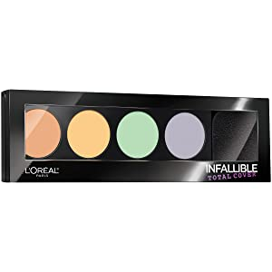 L'Oreal Paris Cosmetics Infallible Total Cover Color Correcting Kit