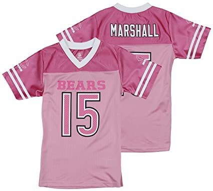 ecfb122cd Image Unavailable. Image not available for. Color  Outerstuff NFL Chicago  Bears Brandon Marshall  15 Little Girls ...