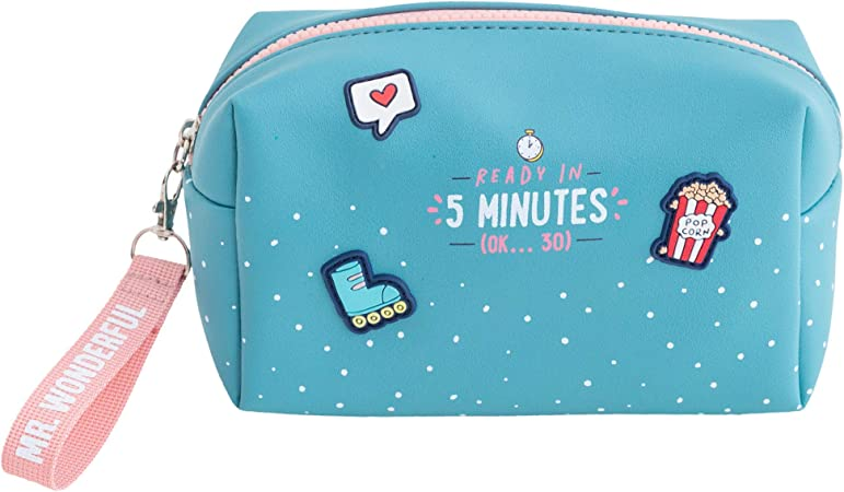 Mr. Wonderful Ready in 5 Minutes (Ok…30) Estuche de Viaje, Multicolor, Talla Única: Amazon.es: Hogar