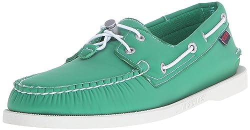 Sebago - Mocasines para Hombre Verde Green Neoprene: Amazon.es: Zapatos y complementos