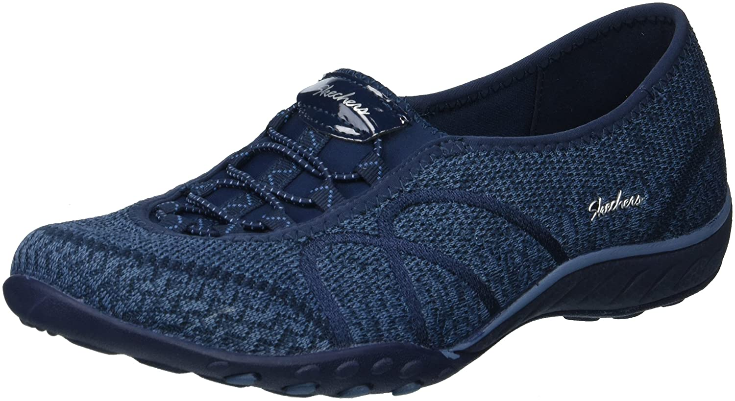 Skechers レディース BREATHE EASY SWEET JAM B07485CT1Q 8 B(M) US|ネイビー ネイビー 8 B(M) US