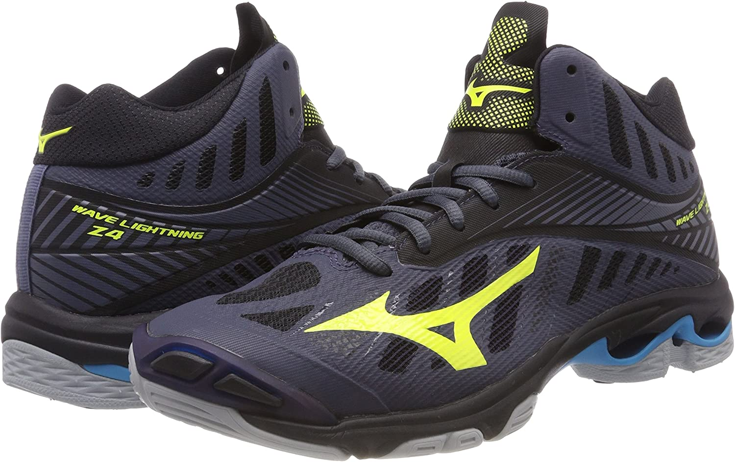 Mizuno Mens Wave Lightning Z4 Mid Volleyball Shoes