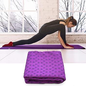 El Adicto atleta | antideslizante toalla de Yoga + bolsa de ...