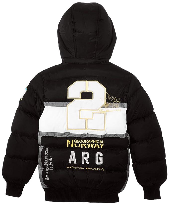Geographical Norway Caradona - Chaqueta para niño, talla 14 años (14), color negro: Amazon.es: Ropa y accesorios