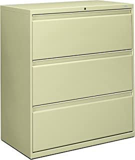 product image for HON 883LL 800 Series 36-Inch by 19-1/4-Inch 3-Drawer Lateral File, Putty