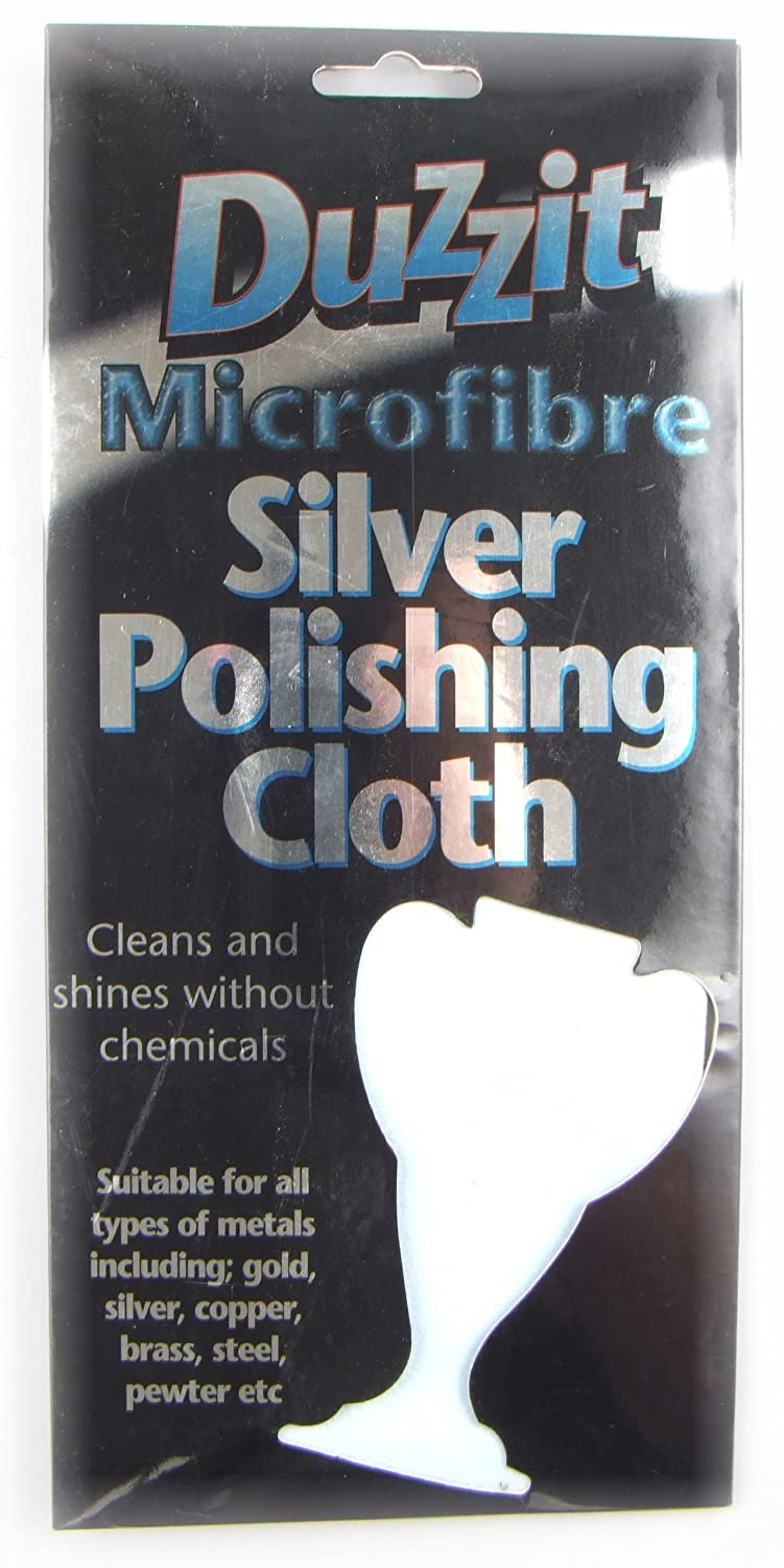 MICROFIBRE SILVER POLISHING CLOTH (ALSO FOR OTHER METALS) 151 Products