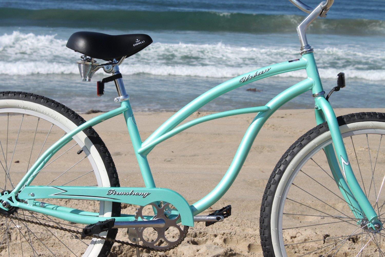 "Firmstrong Urban Lady Single Speed Women/'s 26/"" Beach Cruiser Bike Baby Blue"