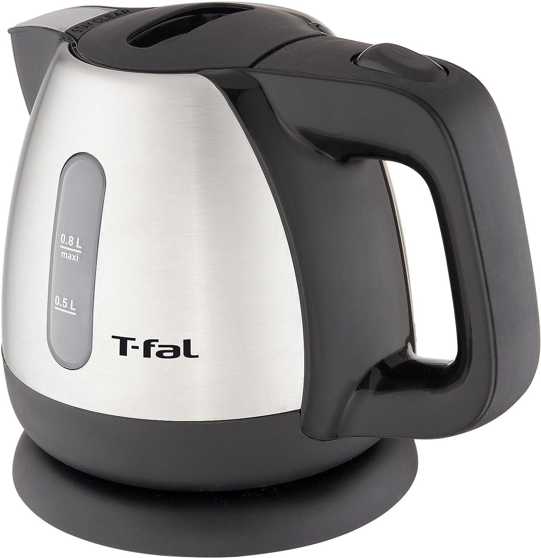 T-fal BI802551 Brushed Stainless Steel 0.8-Liter 1450-Watt Mini Electric Ke 7211001049