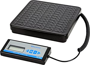 Brecknell PS400 Portable Bench Scale; up to 400lb. Capacity, Perfect for Shipping, Warehouse applications Plus General Purpose Weighing