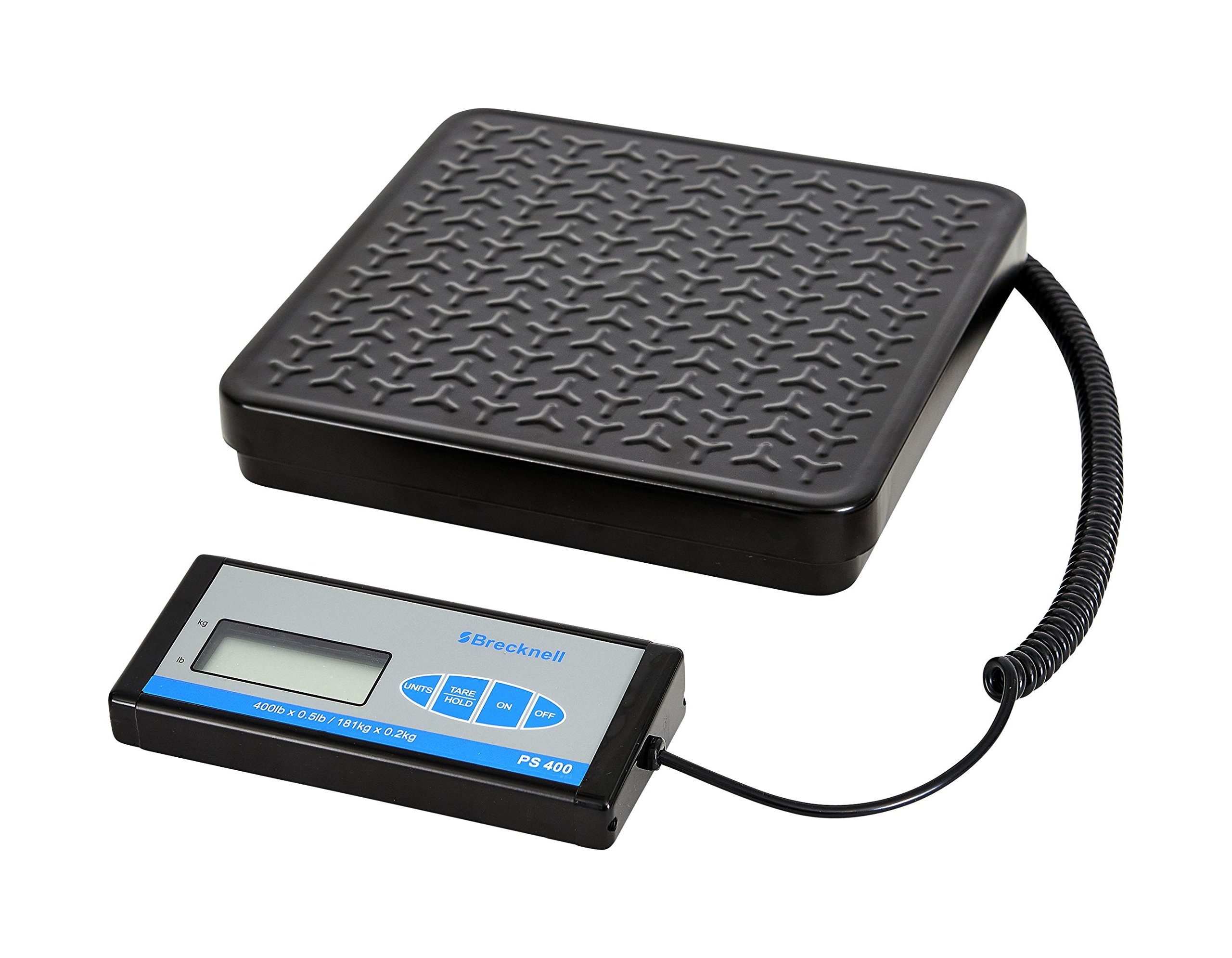 Brecknell PS400 Portable Bench Scale; up to 400lb. Capacity, Perfect for Shipping, Warehouse applications Plus General Purpose Weighing by Brecknell