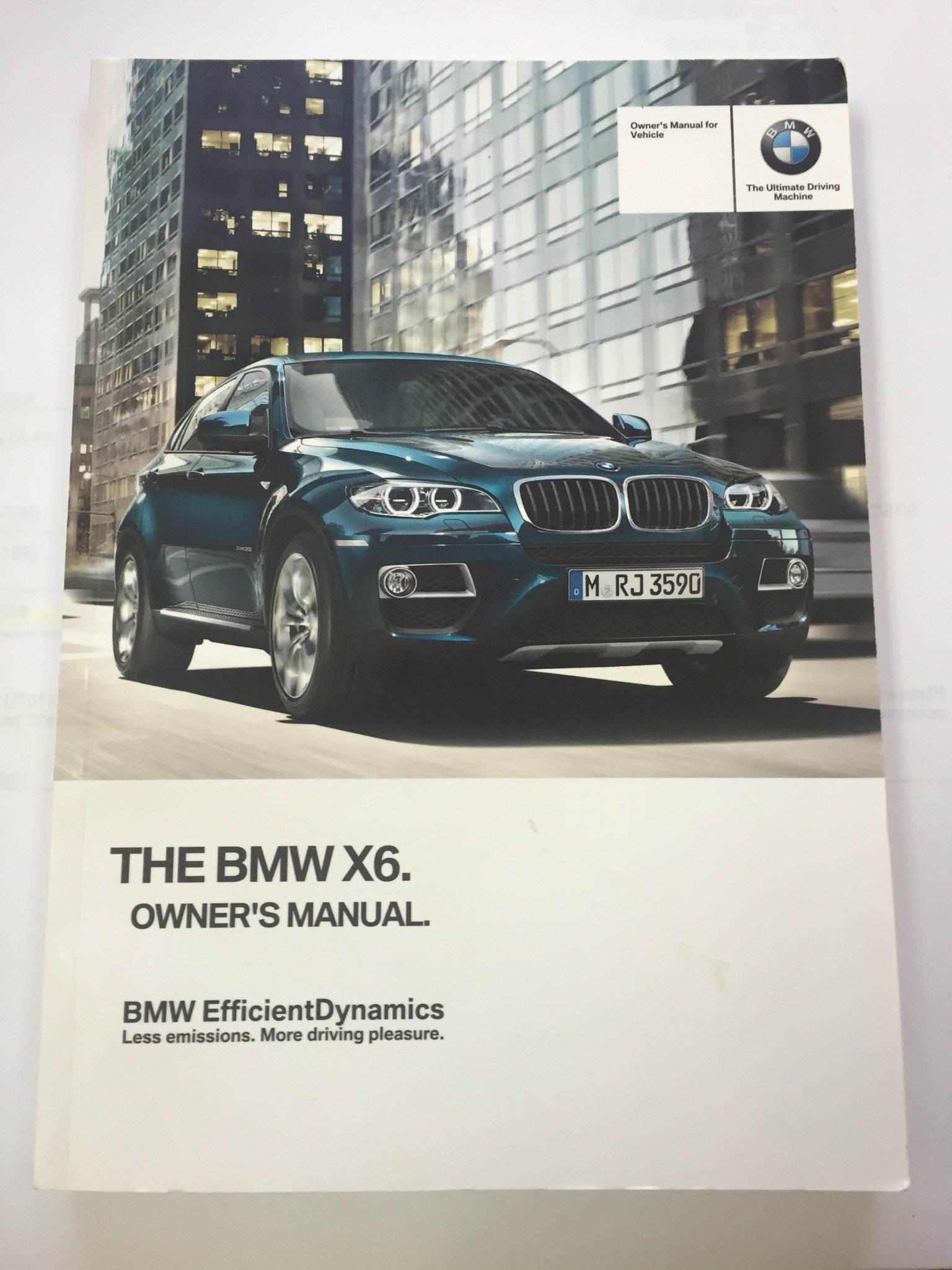 2013 BMW X6 X6M X5 X5M XDRIVE Genuine OEM Owner's Manual--Complete Set: BMW:  0682821520662: Amazon.com: Books