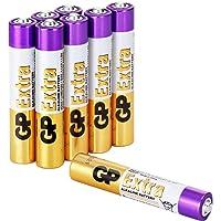GP Batteries - Pack de 8 Pilas alcalinas AAAA / LR61 / E96, baterías 1.5V| Ideal para bolígrafos Digitales, Surface Pen, glucómetros, termómetros o Bombas de insulina
