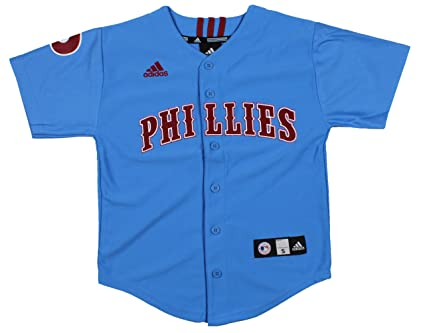 adidas MLB Philadelphia Phillies Cooperstown Collection Youth Jersey (Large  (14-16)) 81201e3f189