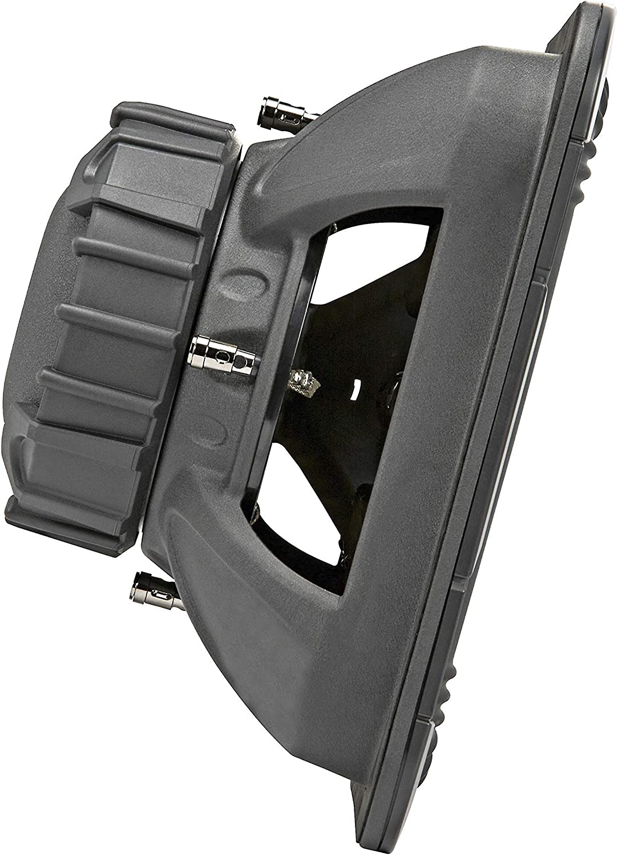Kicker L7R 12 Inch 1200W Max Power 4 Ohm DVC Square Car Audio Subwoofer Black