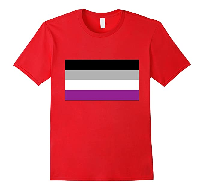 Asexuality flag shirt