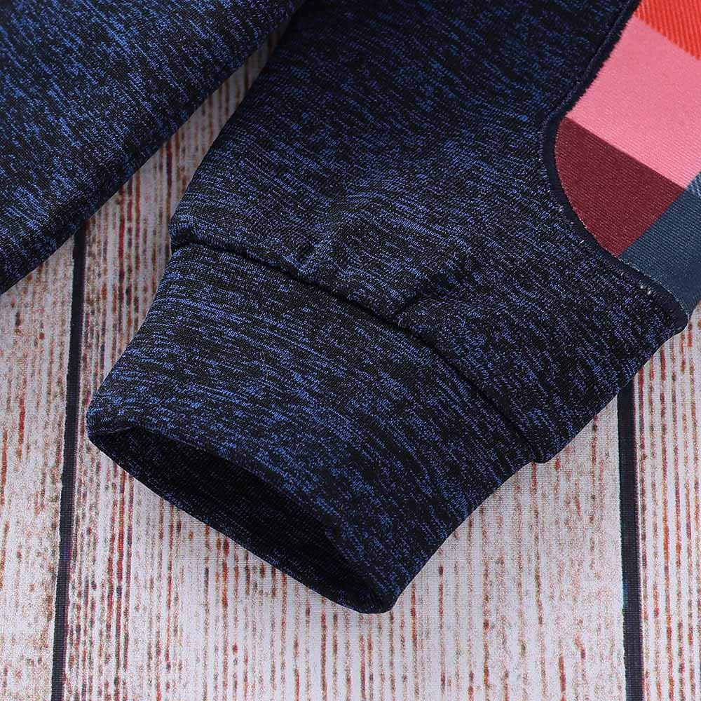 Fossen 6 Meses 3 a/ños Ni/ño Cuadros Sudadera con Capucha Pantalones Conjunto de Ropa Oto/ño e Invierno