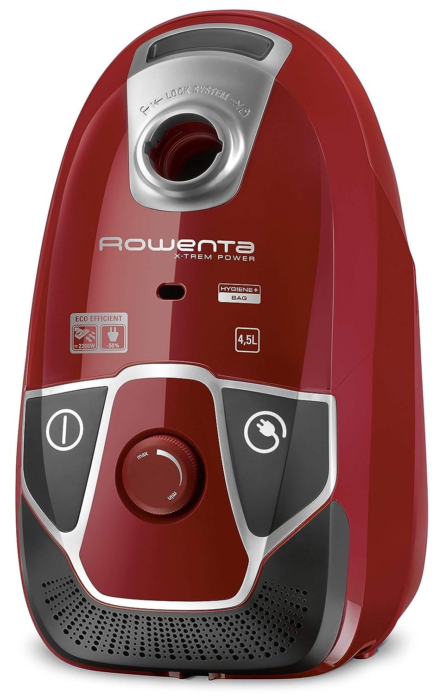 Rowenta X -Trem Power - Aspiradora (78 Db, 4 ruedas, eficiencia energética A), color rojo (Certificado y General para embragues): Amazon.es: Hogar