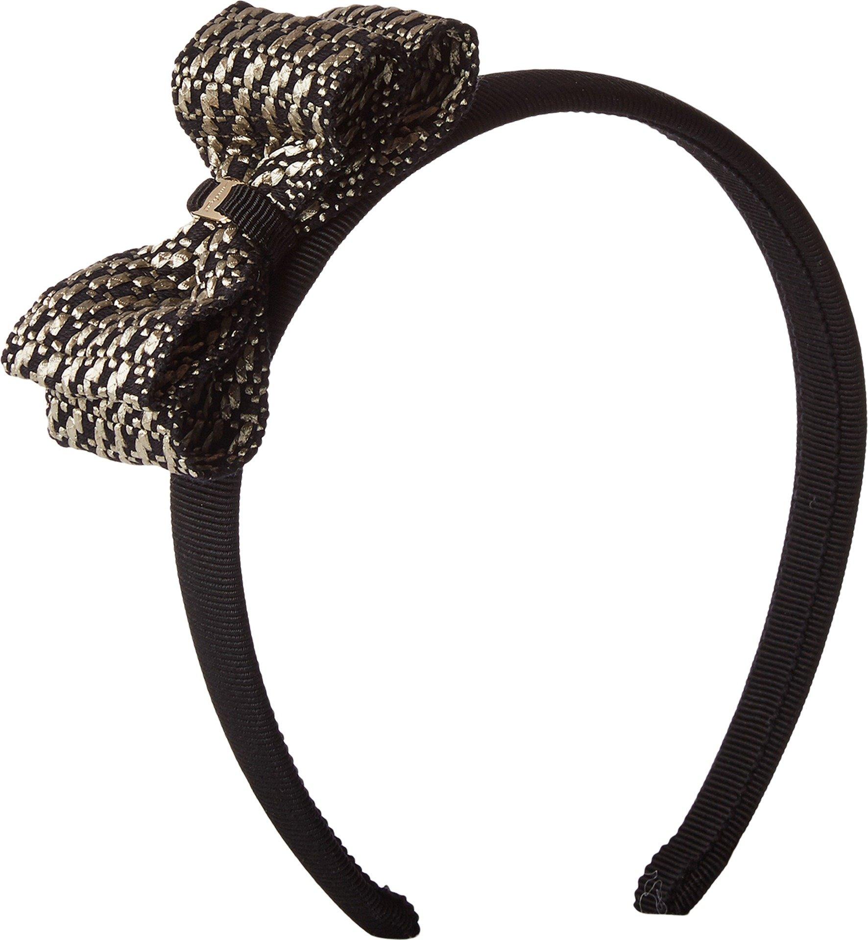 Salvatore Ferragamo Women's 347431 P.TA TWEED V Black/White One Size