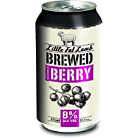 Little Fat Lamb Brewed Berry 375ML Cans - 10 Pack
