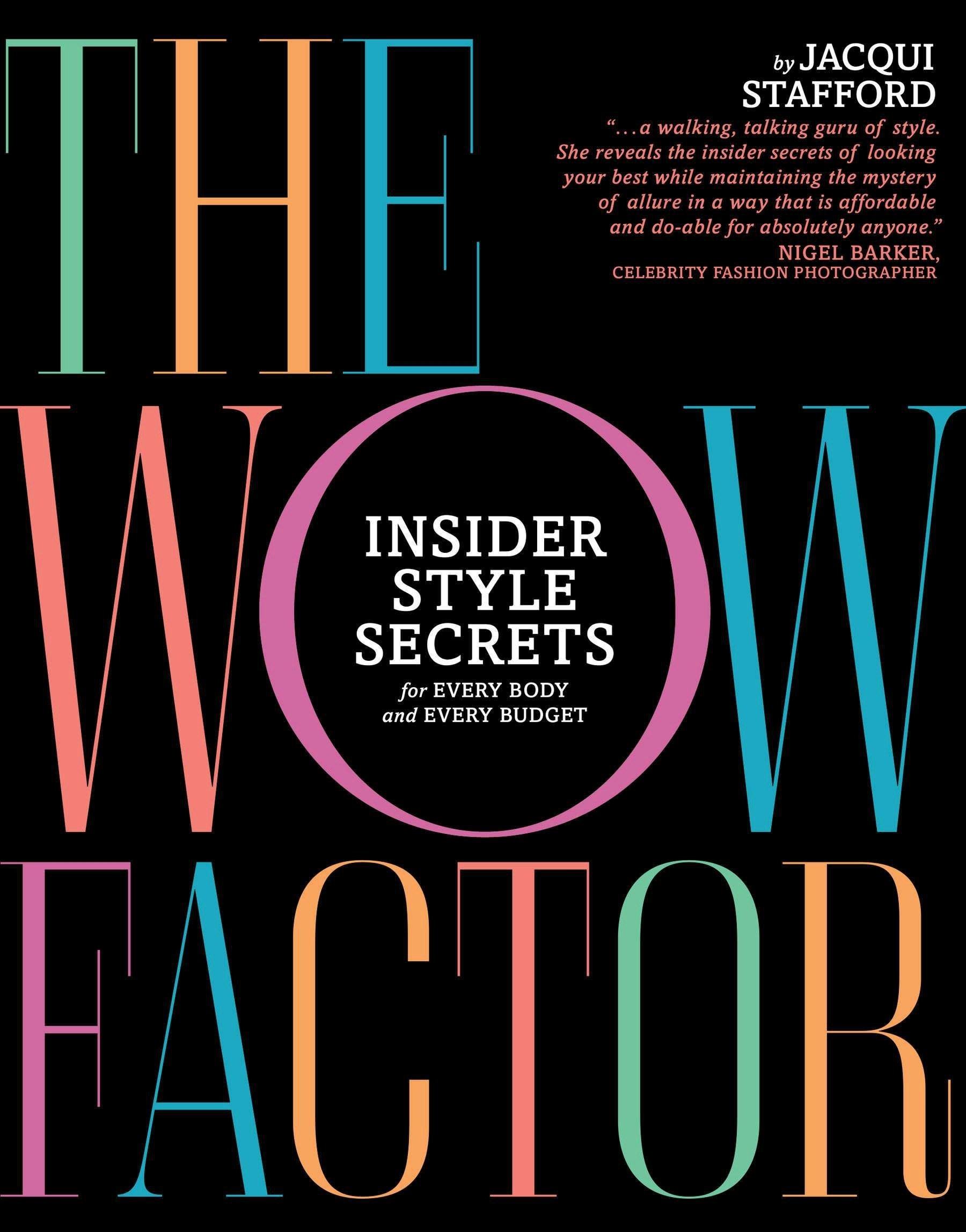 The Wow Factor: Insider Style Secrets for Every Body and Every Budget pdf epub