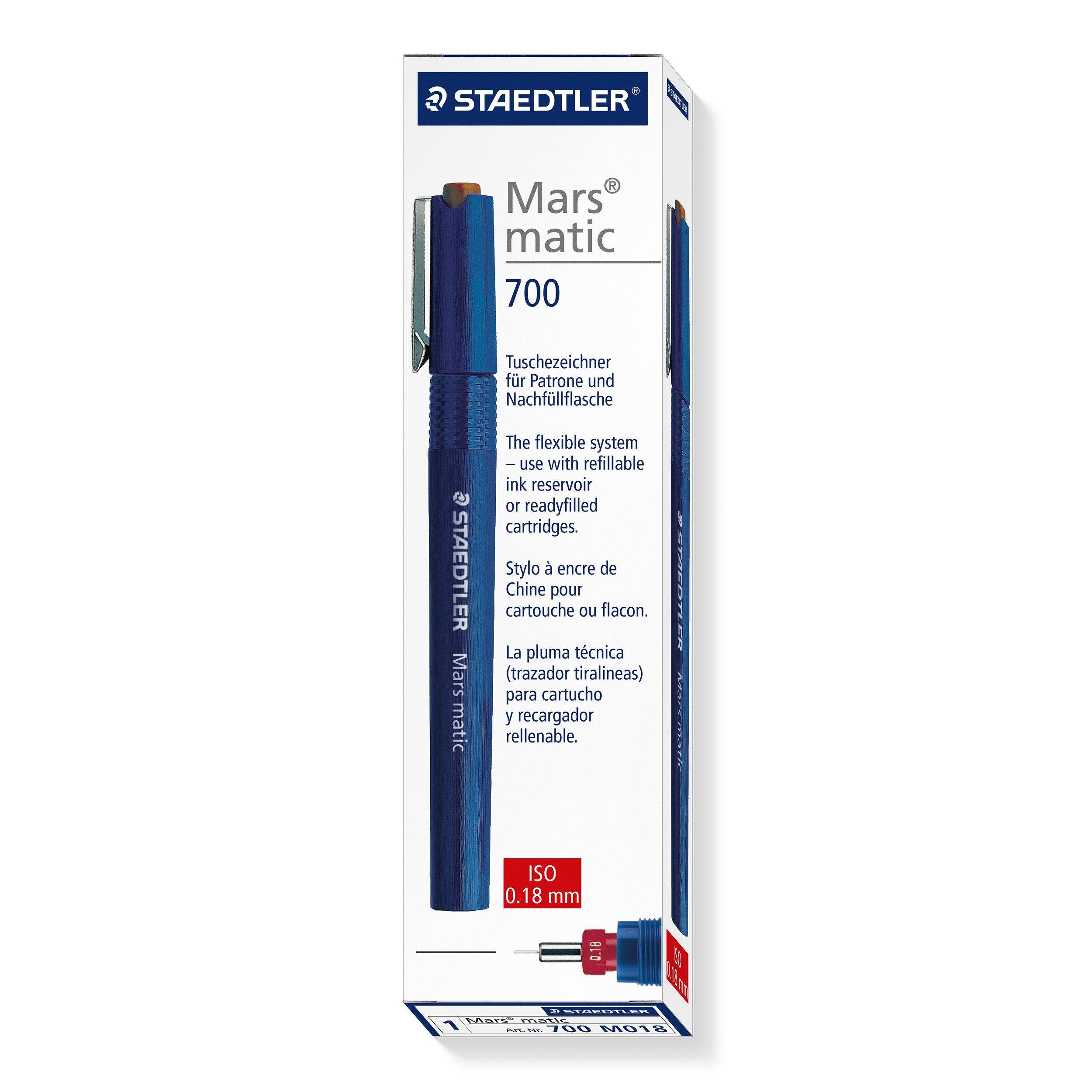 Staedtler Mars Matic 700 M018 Technical Pen - 0.18 mm by Staedtler (Image #2)