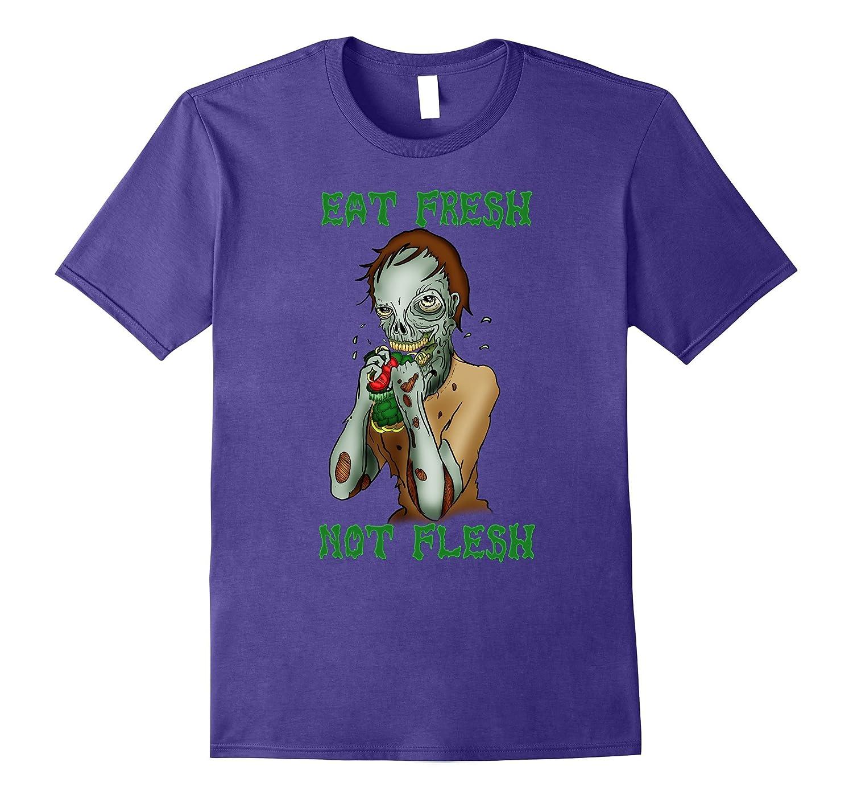 Zombie Eat Fresh Not Flesh vegan-TH