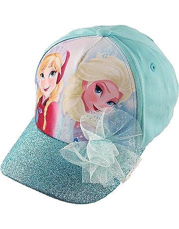 64ff3ccad16 Disney Frozen Elsa and Anna Cotton Baseball Cap with Glitter Pom