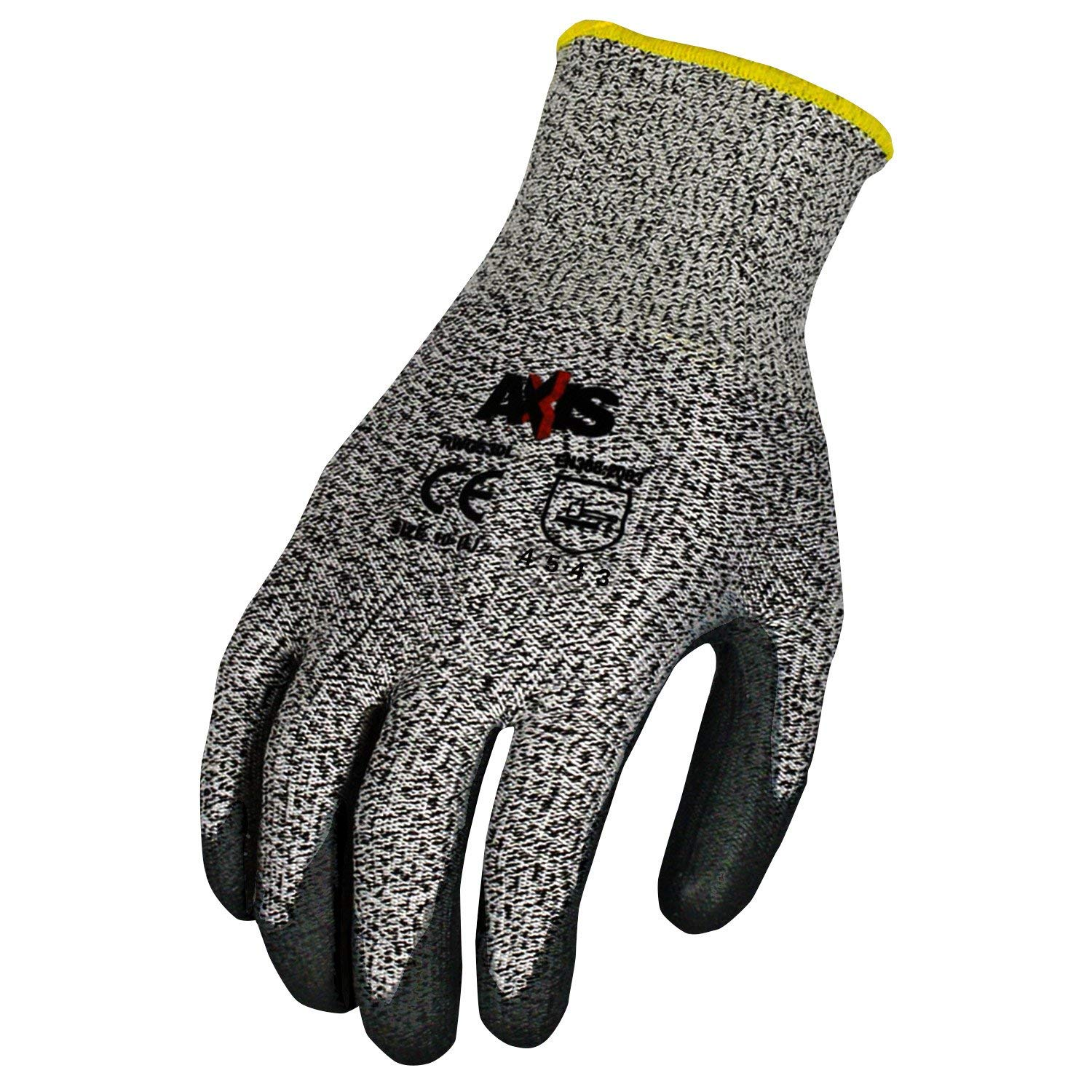 Radians RWG555L Axis Cut Protection Level 4 Work Glove (12 per Pack), Large