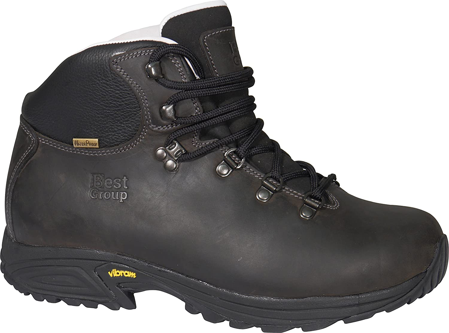 b5749032a10 Best Group Storm Walking Boots Black: Amazon.co.uk: Sports & Outdoors