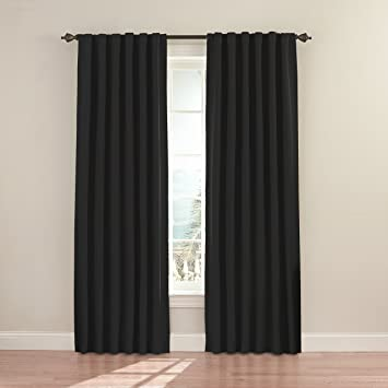 Curtains Ideas black out curtains walmart : Amazon.com: Eclipse Fresno 52 by 84-Inch Blackout Window Curtain ...
