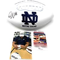 $125 » Quenton Nelson Notre Dame Fighting Irish Signed Autograph Embroidered Logo…