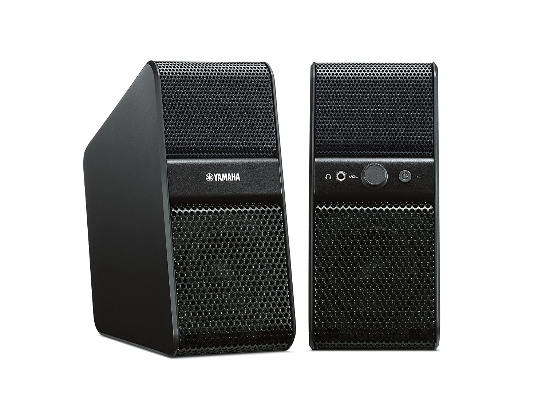 Yamaha NX-50 TV Sound Booster (2 x 7 Watt, 2 x 3,5mm Klinkenstecker ...
