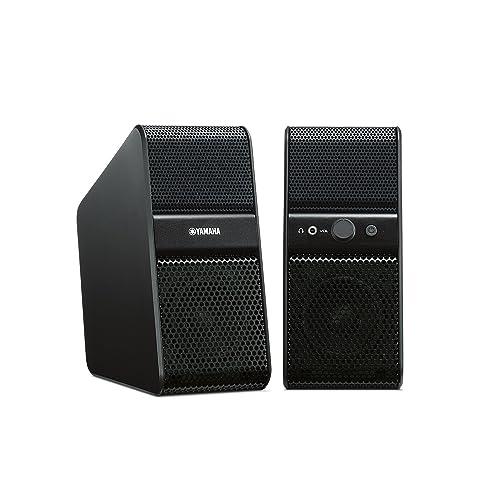 Yamaha NX50BL Enceintes amplifiées pour TV 7 W x 2 Noir