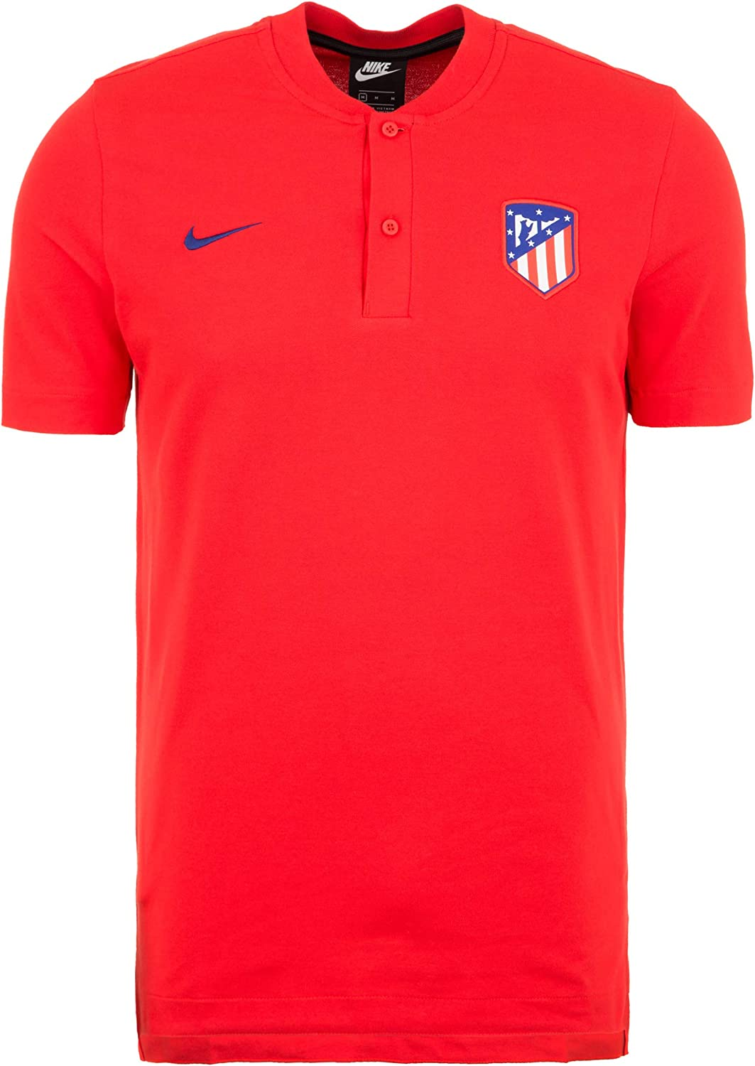 Nike 2019-2020 Atletico Madrid Authentic Polo Football Soccer T ...