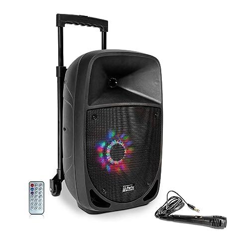 Party 8 LED Altavoz Portatil con Bateria: Amazon.es: Instrumentos musicales