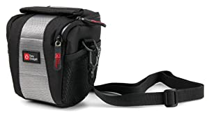 DURAGADGET Black Neoprene Lightweight Zip-Locked Camcorder Carry Case - Compatible with The MAISI 2K Extreme HD Pro 1296P Car Dash Camera (with Bonus Cleaning Cloth)