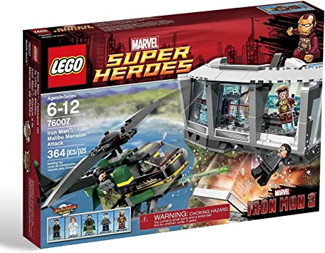 LEGO Super Heroes - Iron Man: Malibu Mansion Attack, Pack de ...