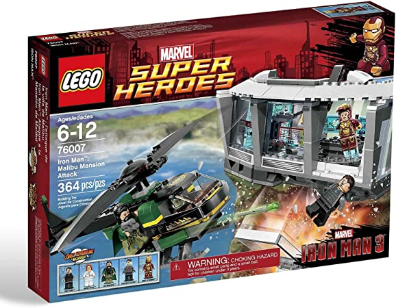 LEGO Super Heroes - Iron Man: Malibu Mansion Attack, Pack de ...