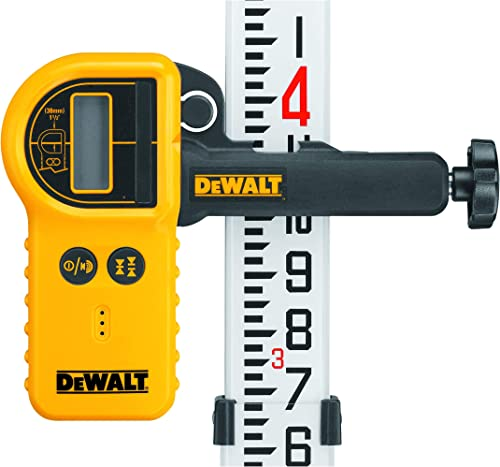 DEWALT Laser Detector For Rotary Lasers and Clamp DW0772