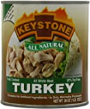 Keystone Meats All Natural Canned Turkey, 28 Ounce
